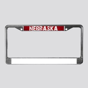 NEBRASKA License Plate Frame