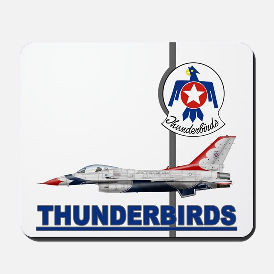 F-16 Thunderbirds Mousepad