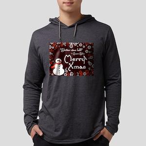Eddie's Xmas Mens Hooded Shirt