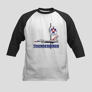 F-16 Thunderbirds Kids Baseball Jersey
