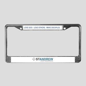 St. Andrew License Plate Frame