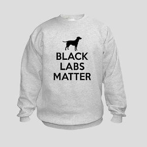 Black Labs Matter Sweatshirt