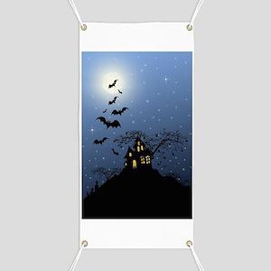 Halloween House Banner