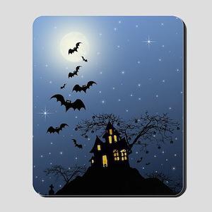 Halloween House Mousepad