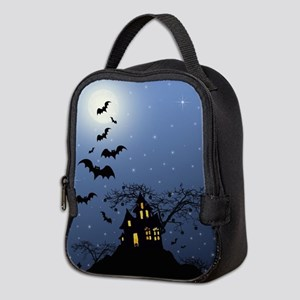 Halloween House Neoprene Lunch Bag