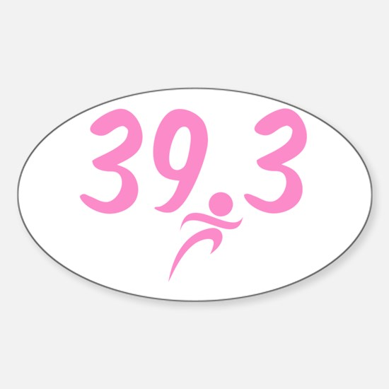 Pink 39.3 Run Walk Decal