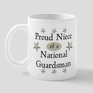 Proud Niece National Guard Mug