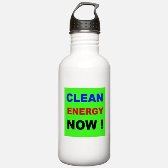 Clean Energy Now Water Bottle