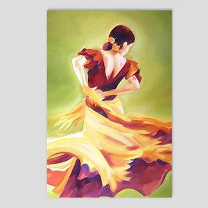 Flamenco Dancer Postcards (Package of 8)