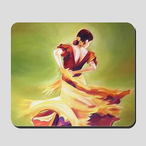 Flamenco Dancer Mousepad