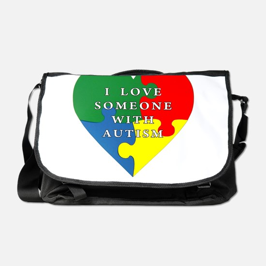 Cute Autism Messenger Bag