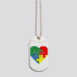 Autism Love Dog Tags
