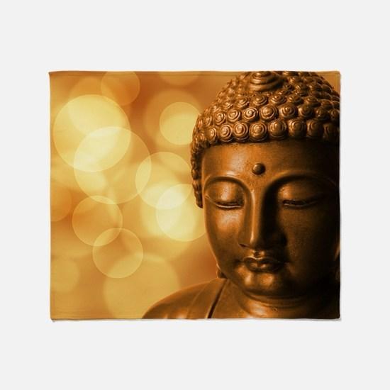 Cool Buddha Throw Blanket
