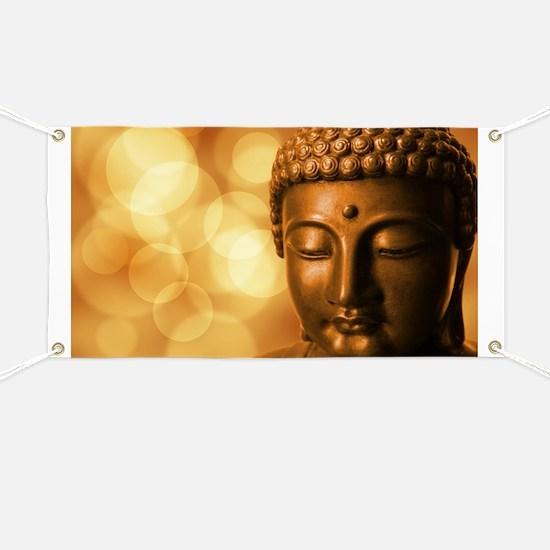 Funny Buddha Banner