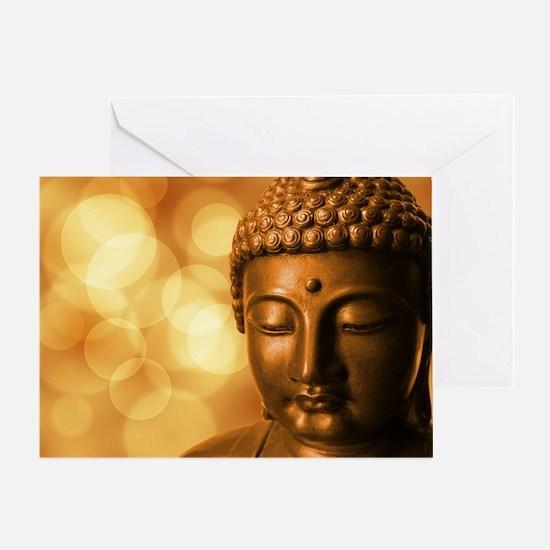 Cute Zen buddhism Greeting Card