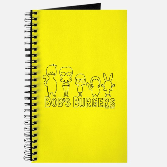 Bob's Burgers Family Outline Journal
