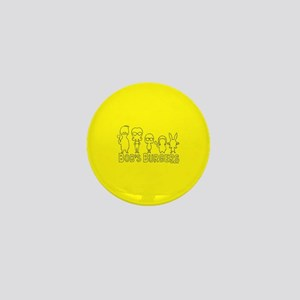 Bob's Burgers Family Outline Mini Button