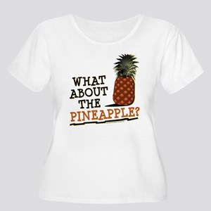HIMYM Pineapp Women's Plus Size Scoop Neck T-Shirt