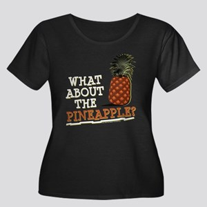 HIMYM Pi Women's Plus Size Scoop Neck Dark T-Shirt