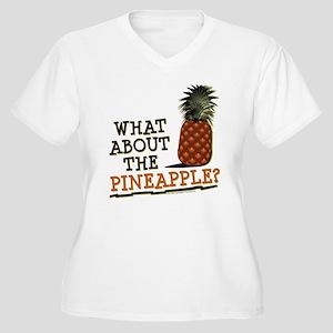 HIMYM Pineapple Women's Plus Size V-Neck T-Shirt