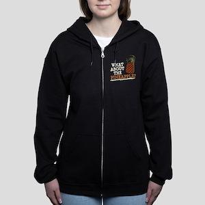 HIMYM Pineapple Women's Zip Hoodie