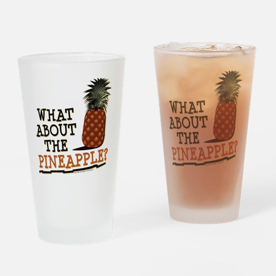 HIMYM Pineapple Drinking Glass