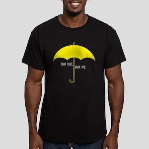 HIMYM Umbrella Men's Fitted T-Shirt (dark)