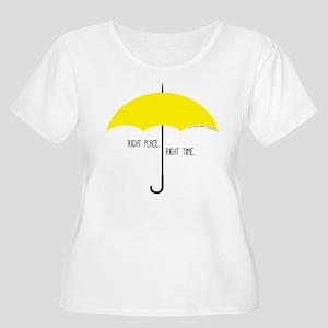 HIMYM Umbrell Women's Plus Size Scoop Neck T-Shirt