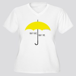 HIMYM Umbrella Women's Plus Size V-Neck T-Shirt