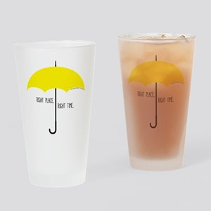 HIMYM Umbrella Drinking Glass