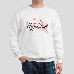 Hypnotist Artistic Job Design with Hear Sweatshirt