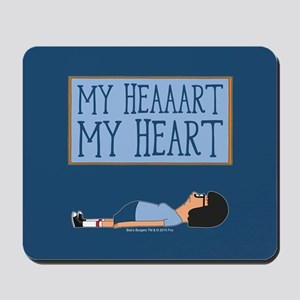 Bob's Burgers Tina Heart Mousepad