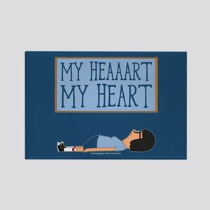 Bob's Burgers Tina Heart Rectangle Magnet