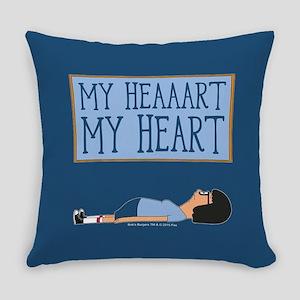 Bob's Burgers Tina Heart Everyday Pillow
