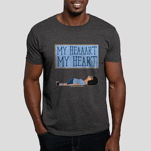 Bob's Burgers Tina Heart Dark T-Shirt