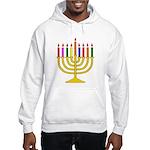 Hanukkah Menorah - (hoodie) Hooded Sweatshirt