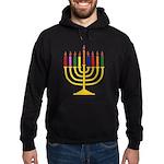 Hanukkah Menorah - Hoodie (dark)