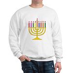 Hanukkah Menorah - Sweatshirt