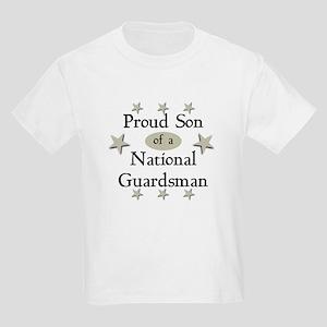 Proud Son National Guard Kids Light T-Shirt