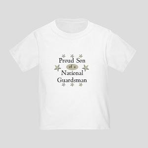 Proud Son National Guard Toddler T-Shirt