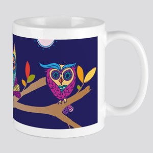 Nighttime Owl Party Mugs