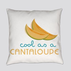 Cool As Cantaloupe Everyday Pillow