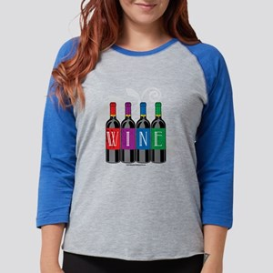 Wine Bottles Long Sleeve T-Shirt