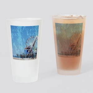 Santa Monica Pier Drinking Glass