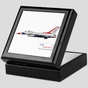 F-16 Thunderbirds Keepsake Box