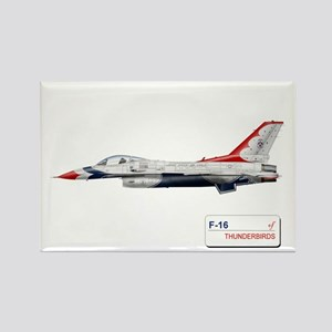 F-16 Thunderbirds Rectangle Magnet