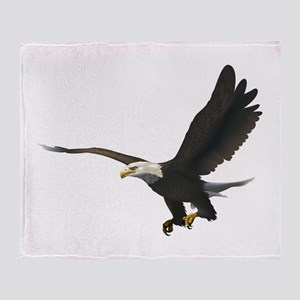 Flying Eagle Throw Blanket
