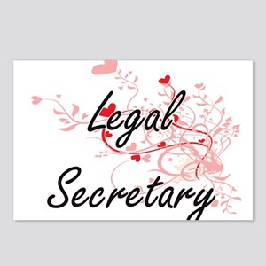 Legal Secretary Artistic Postcards (Package of 8)