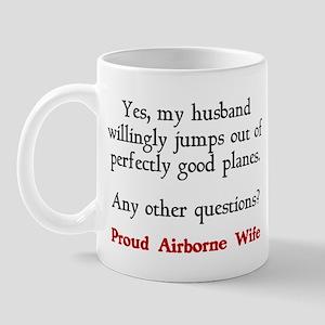 My husband jumps... Mug
