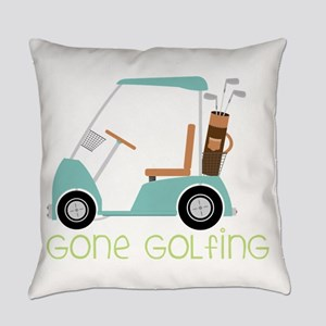 Gone Golfing Everyday Pillow